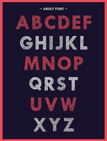 《2015百款免费西文字体集合》