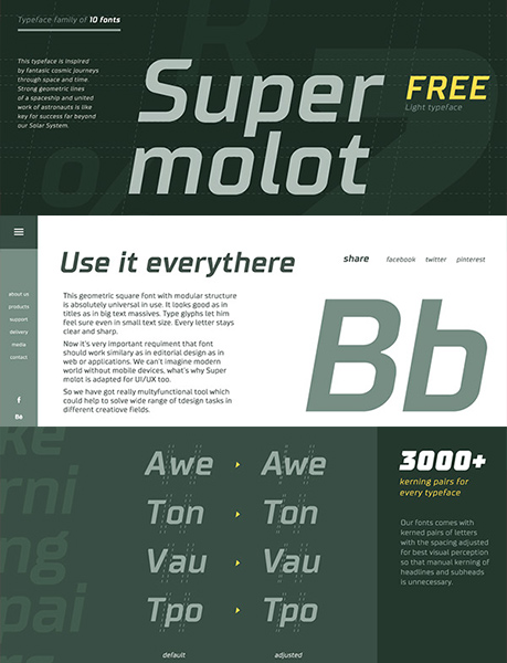Download 100 Greatest Free Fonts Collection for 2015