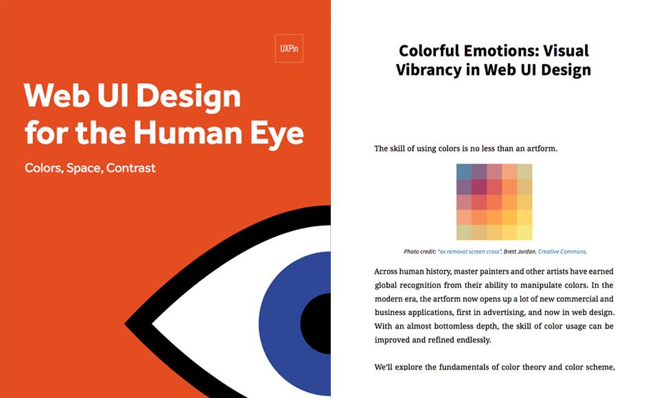 Web UI Design for the Human Eye - eBook