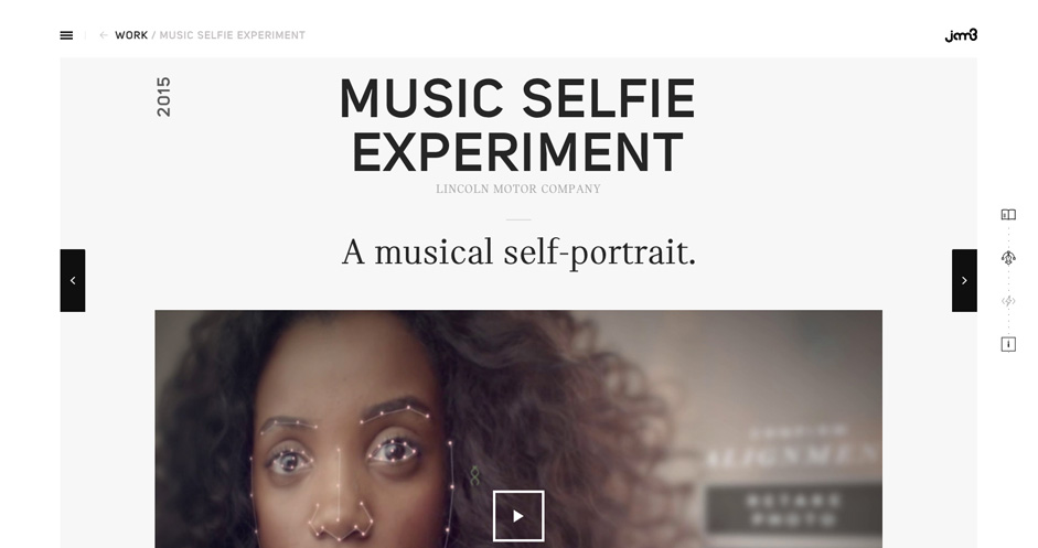 The Music Selfie Experiment