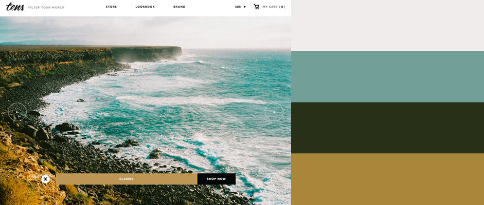 Trendy Web Color Palettes And Material Design Color Schemes Tools - Trendy color combinations