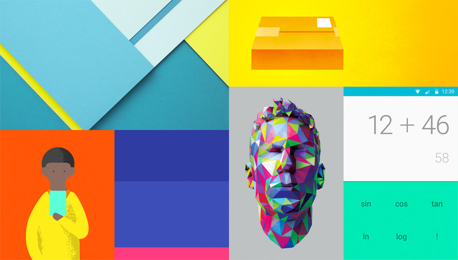 Great Material Design Color Guidelines:Color Should Be Unexpected And Vibrant.