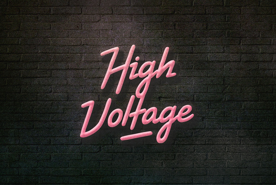 high-voltage-font
