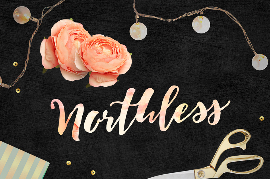 northless-font