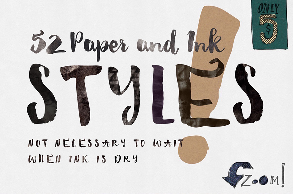 paperink-photoshop-styles