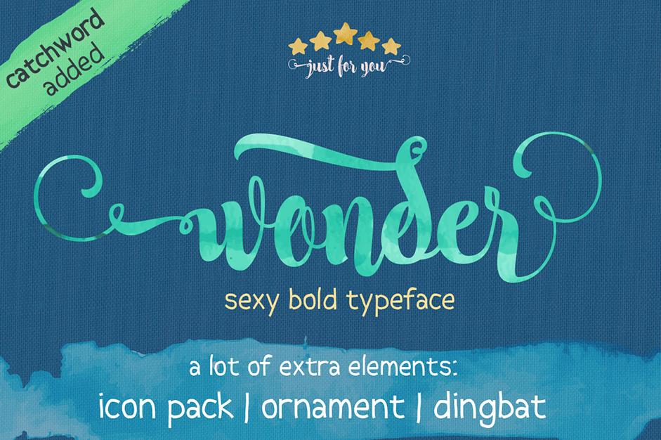 wonder-font