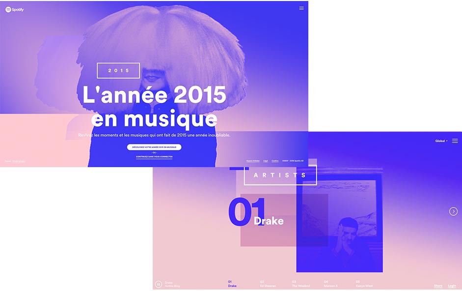 Year in Music - Quartz Serenity Pantone