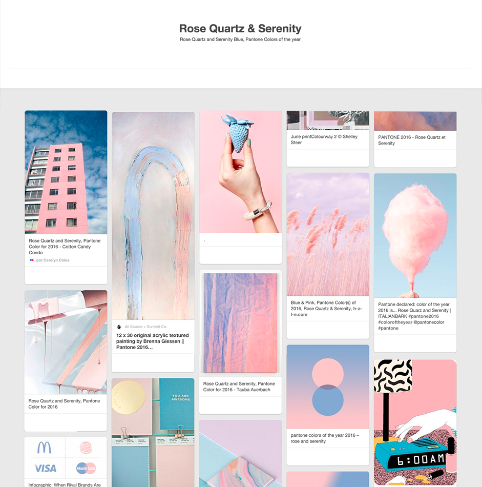 23a9325f00 How Pantone Colors of the Year Rose Quartz and Serenity Join the ...