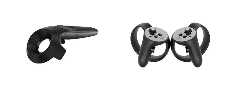 vr joysticks