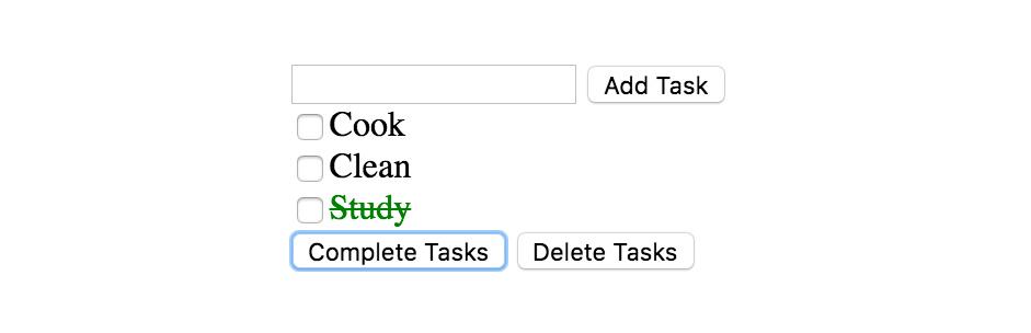 mvc js tasks app