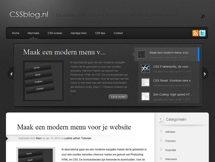 http://www.cssblog.nl