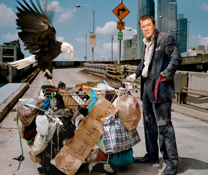 Creative Celebrity Portrait by Martin Schoeller