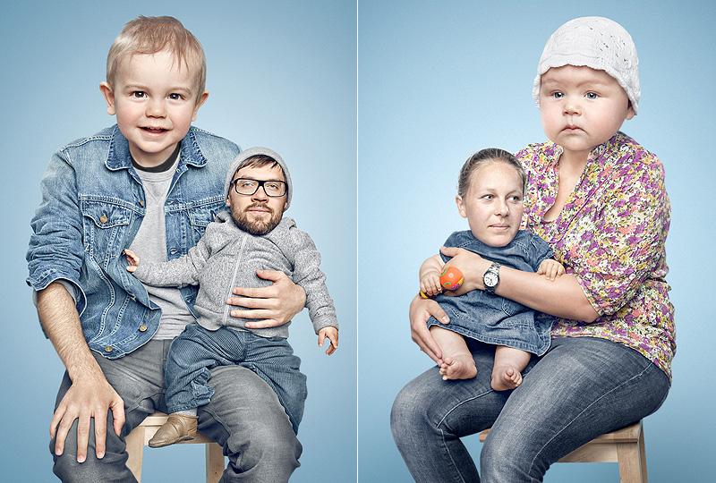 Kindskoepfe 1 Photoshopla yüz değiştirme