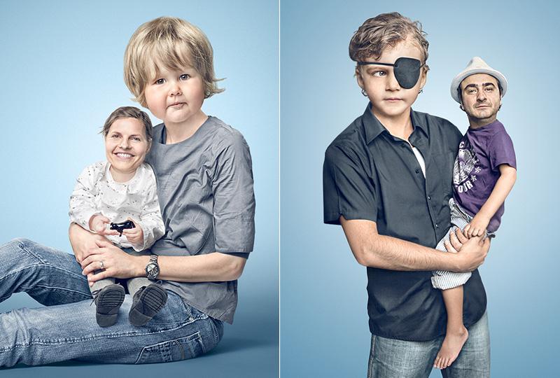Kindskoepfe 9 Photoshopla yüz değiştirme