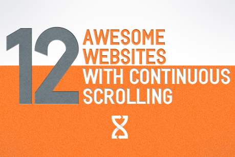 12 Awesome Websites with Continuous Scrolling