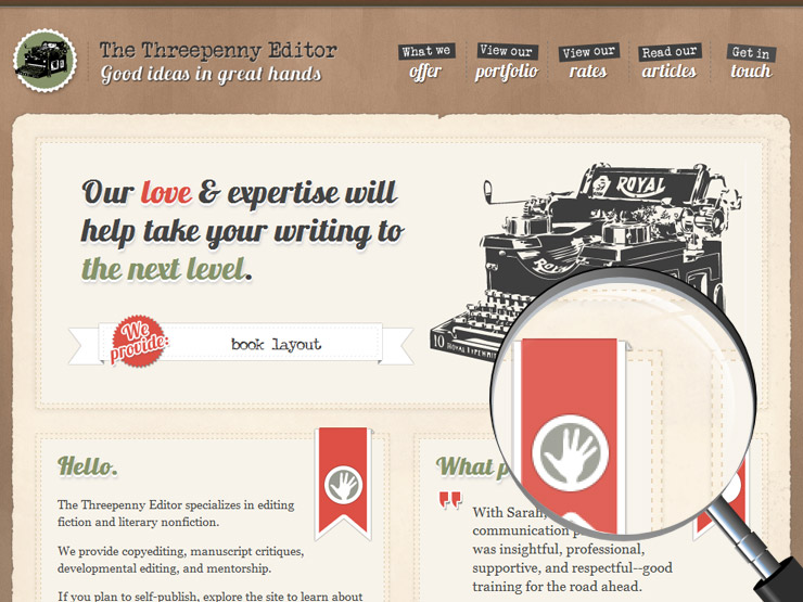 The threepenny editor