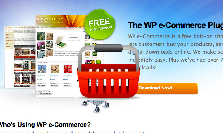 The Wp e-Commerce Plugin
