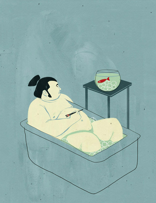 "The Wonderful illustrations of Alessandro Gottardo aka ""Shout"""
