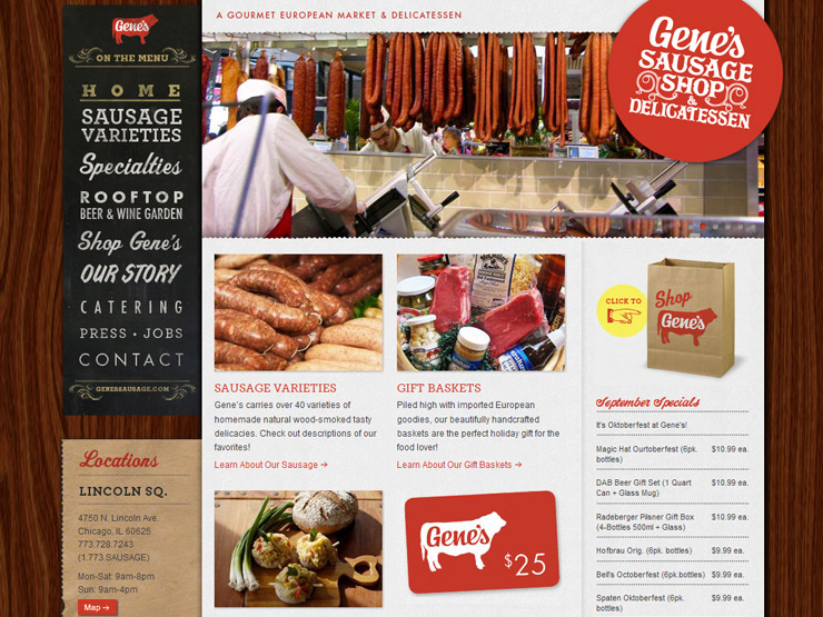 Gene's Sausage Shop & Delicatessen
