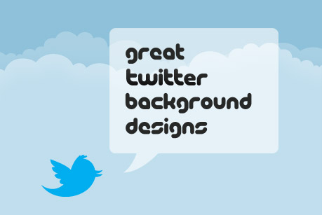 Great Twitter Background Designs