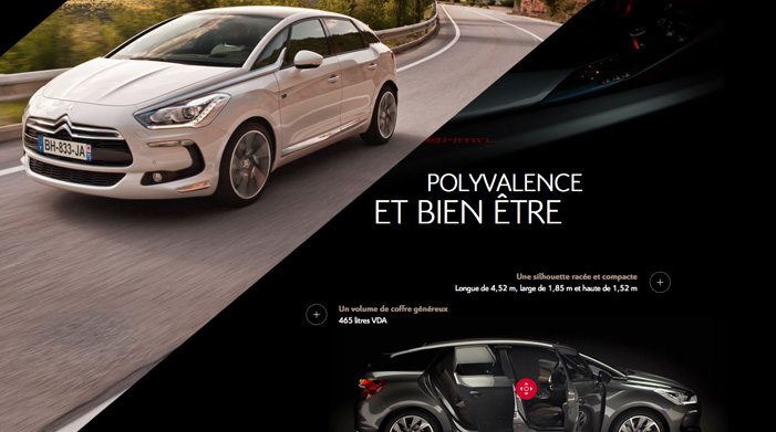 New Citroën DS5