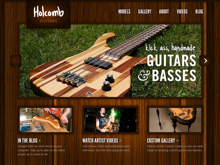 Holcomb Guitars