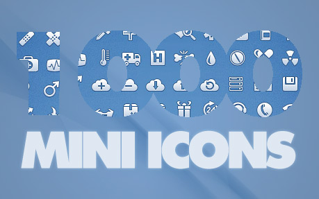 1000 Pixel Perfect Mini Icons for Web Designers
