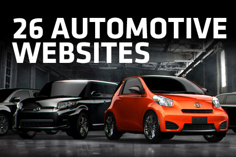 26 Great Automotive Websites