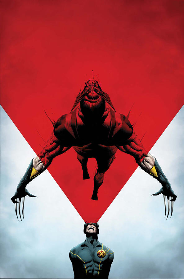 Wolverine #8 - Wolverine vs the X-Men | Cover by Jae Lee