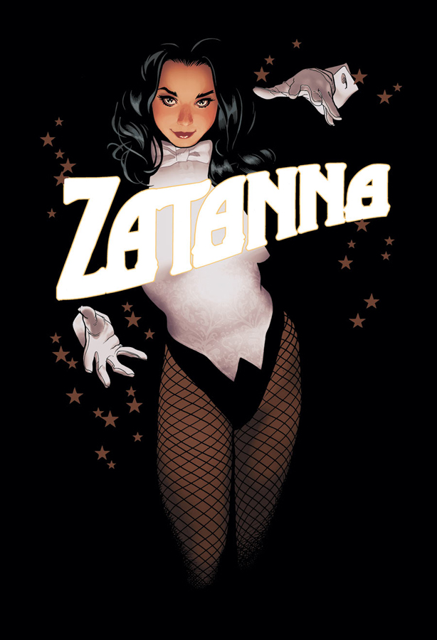 Zatanna #15 | Cover by Adam Hughes