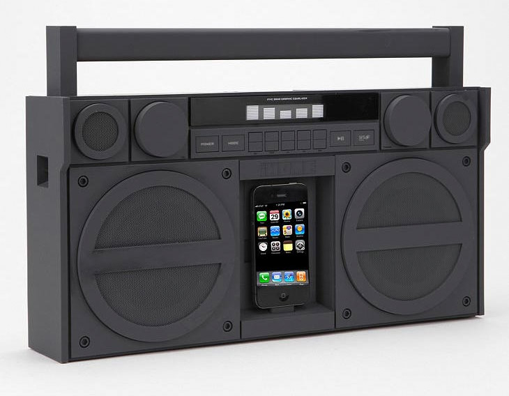 iHome iP4 Portable FM Stereo Boombox