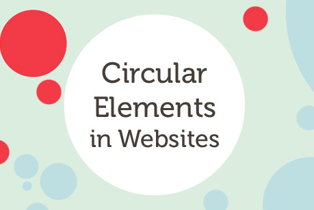 Circular Elements in Websites