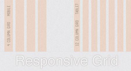 Responsive grid PSD
