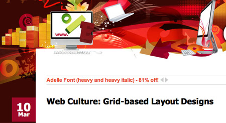 Web Culture: Grid-based Layout
