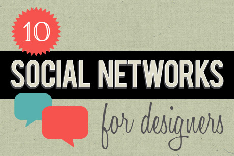 10 Social Networks for Web Designers