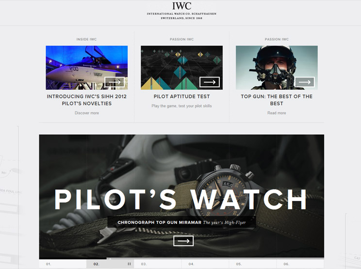 IWC International Watch Co. by Odopod
