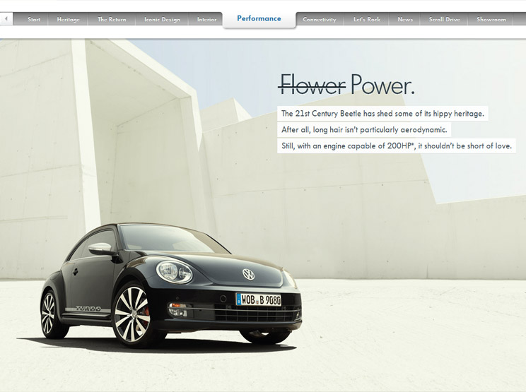 Volkswagen Beetle by DDB-Tribal