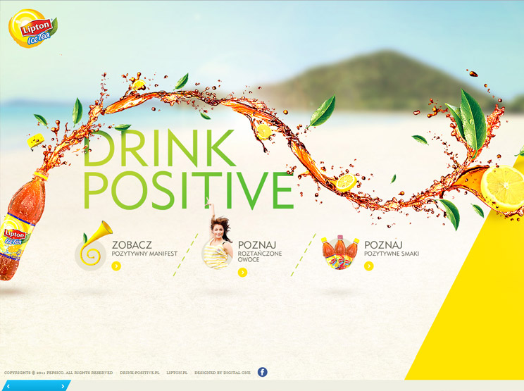 Lipton Ice Tea by Digital One