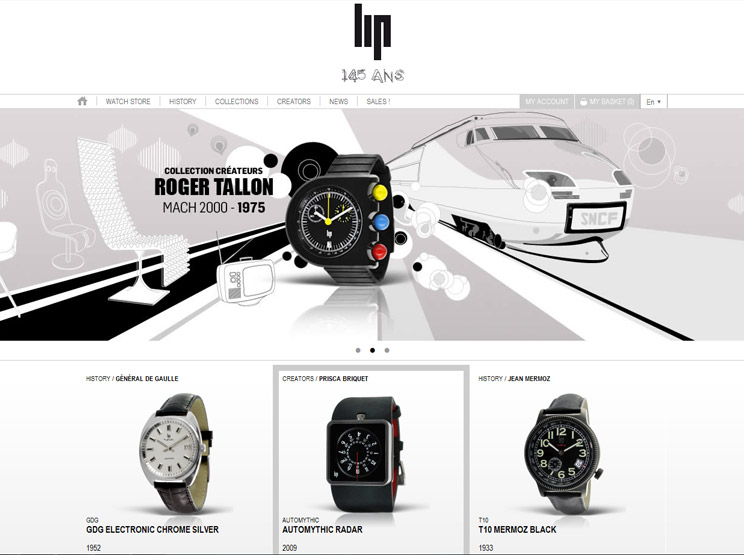 Lip Watches by Ultranoir