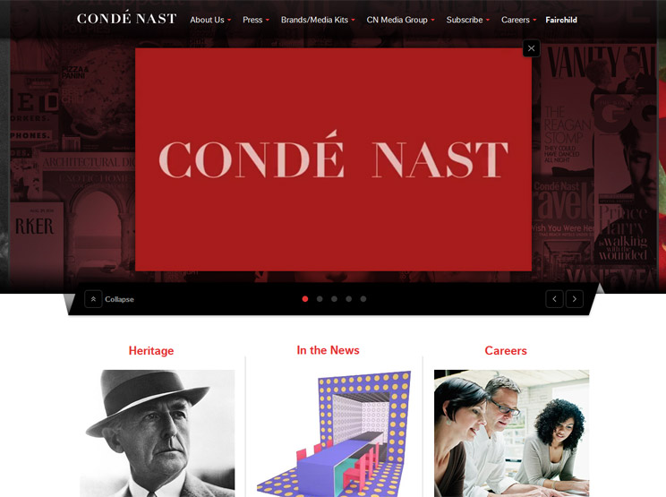 Conde Nast by Your Majesty