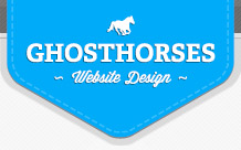 Ghosthorses Website Design