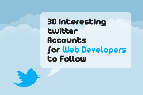 30 Interesting Twitter Accounts for Developers