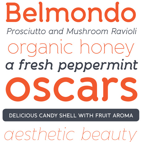 Banda Typeface Regular