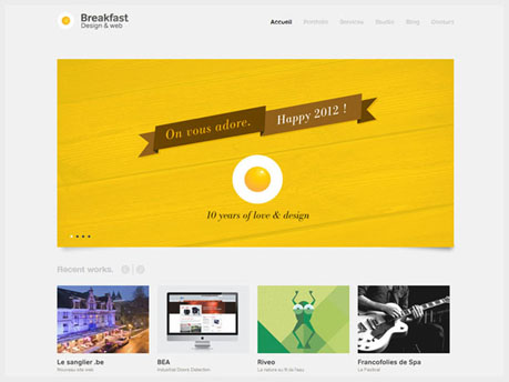 Web Design Homepage Inspiration Castle Home