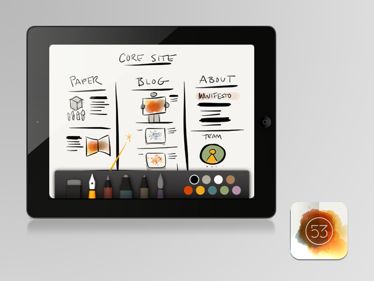 23 essential ipad apps for web designers and developers Blueprint creator app