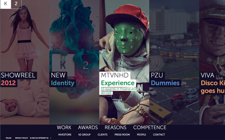 K2 digital agency website