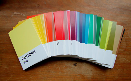 Pantone Post Cards