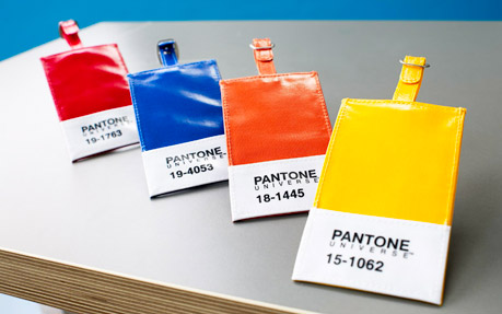 Pantone Luggage Tags