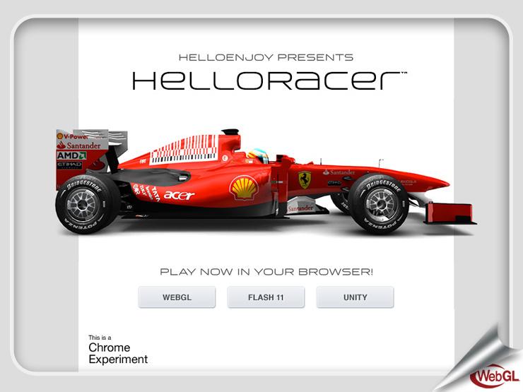 HelloRacer™ (2011)