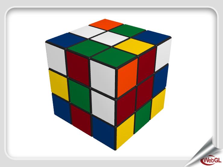WebGL Rubik's Cube, by Werner Randelshofer